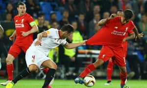 More than a million football fans watched YouTube to see Sevilla beat Liverpool in the UEFA Europa League Final