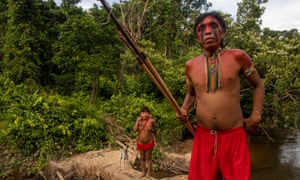 'Indigenous people have lived with epidemics brought by the white man since the 16th century,' wrote one Brazilian columnist. 'Now, with the arrival of coronavirus, the threat is back.'