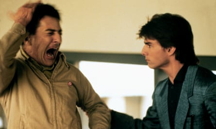 Dustin Hoffman and Tom Cruise