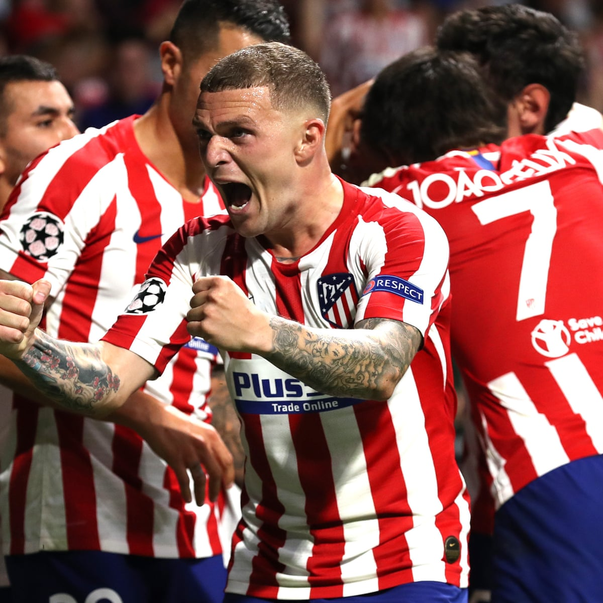 Kieran Trippier Delivering For Atletico Madrid And Relishing New 100mph Life Atletico Madrid The Guardian