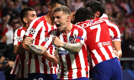 Kieran Trippier delivering for Atlético Madrid and relishing new 100mph life