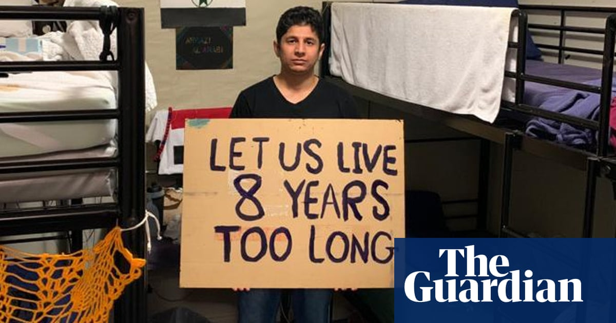 'Torturous': Australian family fights to free refugee held for eight years without charge