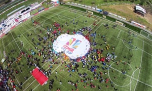 The Izmir Under-12 Cup at Altinordu's Selcuk-Efes complex, which is home to eight Fifa-standard pitches