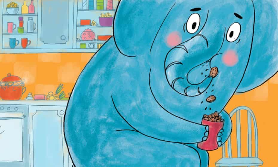 Out of the blue … Elephant in My Kitchen! by Smriti Halls and Ella Okstad.