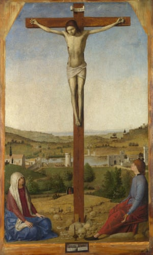 Christ Crucified (1475) by Antonello da Messina.