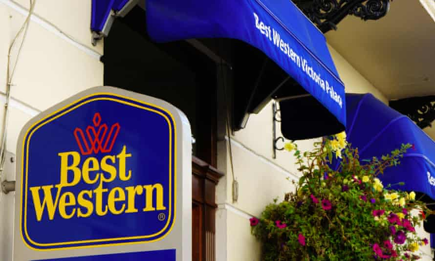 Sign for a Best Western hotel