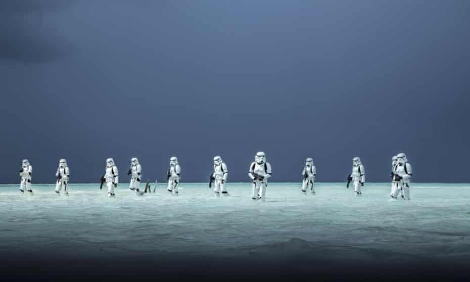 More like TV … a scene from Rogue One.