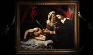 Experts fell short of definitively attributing Judith Beheading Holofernes to Caravaggio.