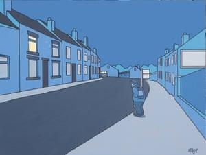 'My work doesn't require dissection or over-interpretation' … 5.15, by Pete McKee, part of his This Class Works show.