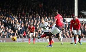 Paul Pogba slots home the penalty.