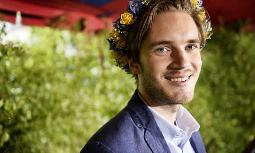 Felix Kjellberg AKA Pewdiepie.