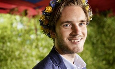 YouTuber PewDiePie has 53 million subscribers.