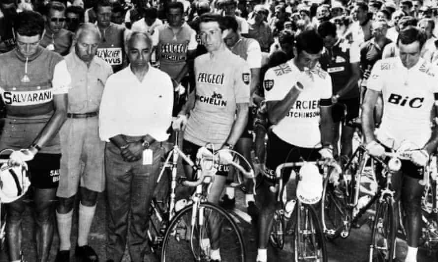 Tour de France riders, 1967