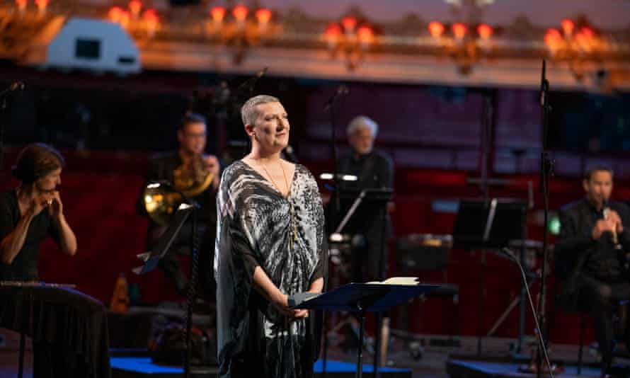 From the heart ... Sarah Connolly in the Royal Opera House's livestreamed gala concert.