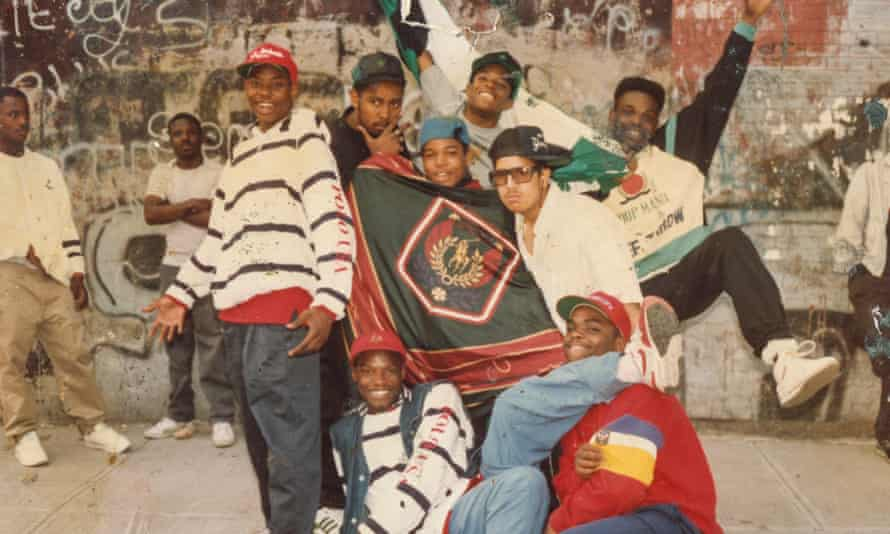 Some of the Lo Life crew, 1988.