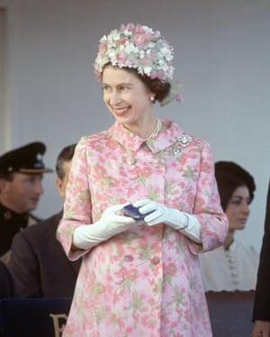 Queen Elizabeth II in Malta