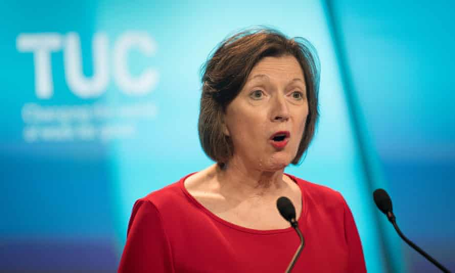 Frances O'Grady of the TUC says the government 'must reject this divisive report'.