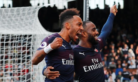 Alexandre Lacazette keeps up fine form as stylish Arsenal sweep Fulham aside d050fbf3c