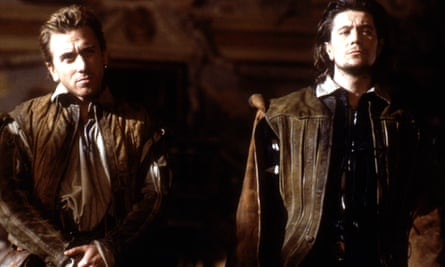 Tim Roth, left, and Gary Oldman in Rosencrantz and Guildenstern Are Dead, 1990.