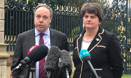 DUP deputy leader, Nigel Dodds, and leader, Arlene Foster, have said they won't back the deal.