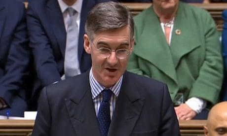 Rees-Mogg breaks broken news to a horrified house