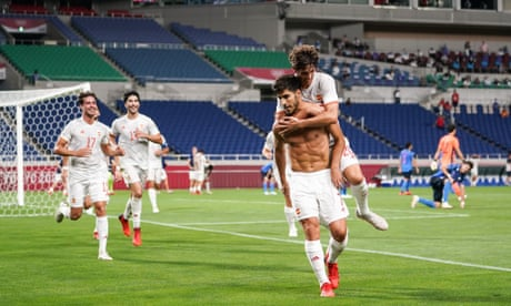 Spain to face Brazil in men's Olympic football final after Asensio sinks Japan