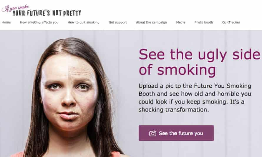 A Queensland Government anti-smoking campaign
