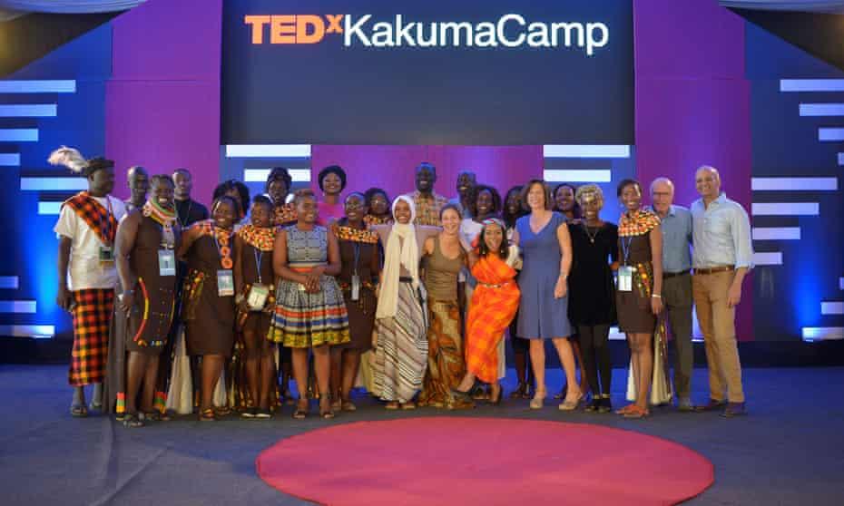 TEDx event at Kakuma refugee camp