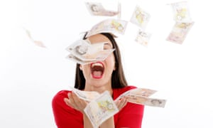 Young Woman Throwing Money in The Air Model Released<br>AD3KMR Young Woman Throwing Money in The Air Model Released
