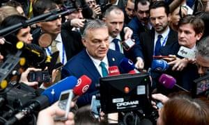 Hungary's prime minister, Viktor Orbán.