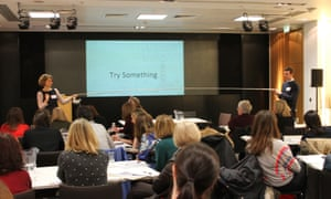 Try something, ideas for creative writing with author Emma Carroll at the Guardian Education Centre Reading for pleasure conference 5 March 2018.