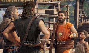 Compelling drama … Assassin's Creed Odyssey.
