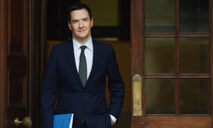 George Osborne en route to delivering his autumn statement in November.