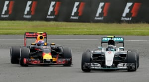 Rosberg takes Verstappen and moves into second.