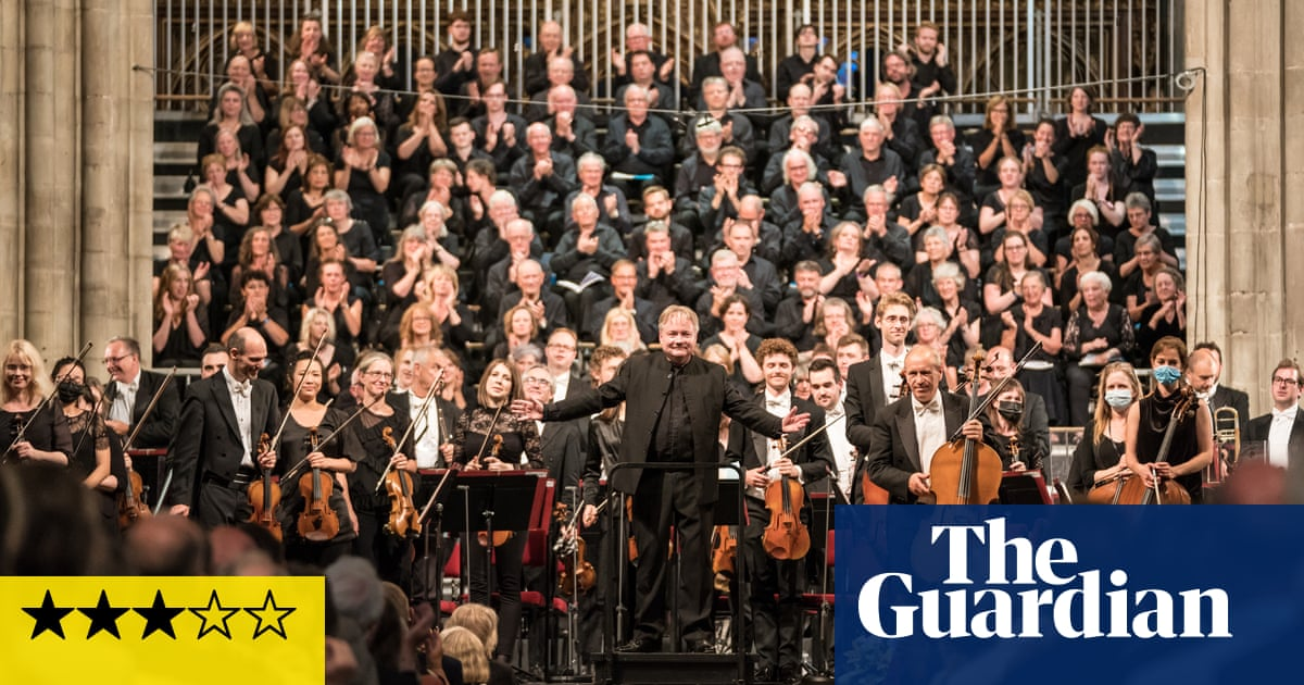 Three Choirs festival review – poetic harmony resonates with the times