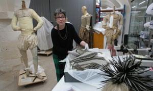 Textile conservator Zenzie Tinker.