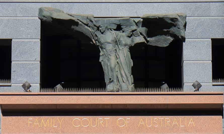 Family court building in Sydney