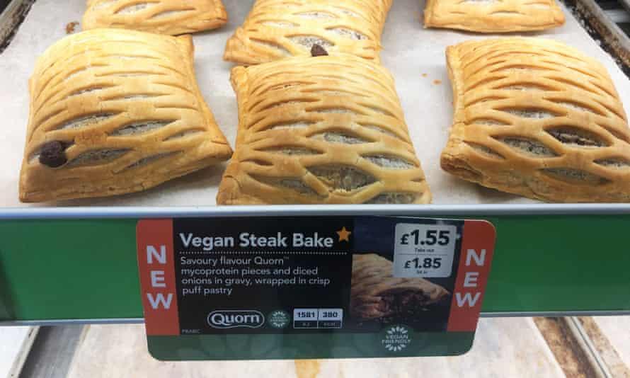 Greggs vegan steak bake