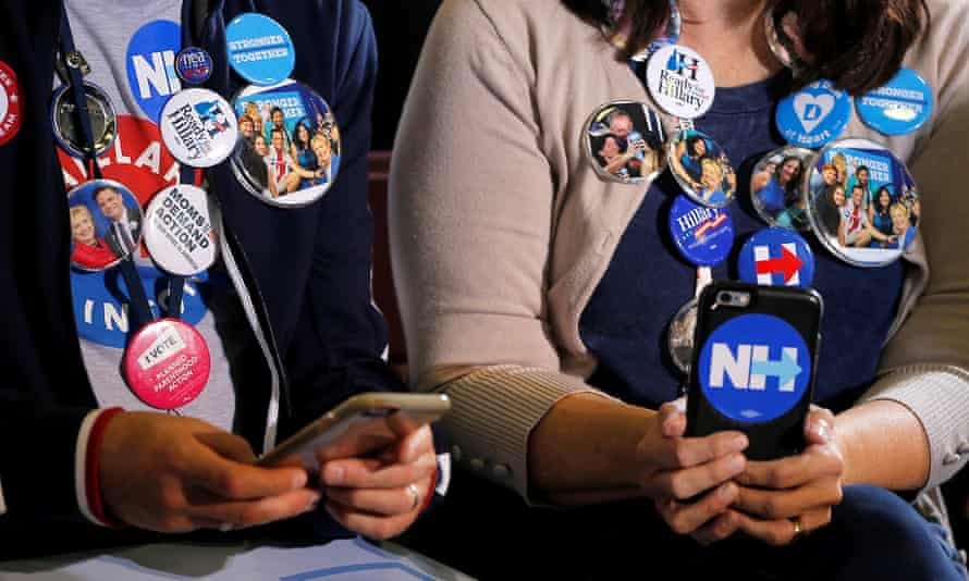 Hillary Clinton supporters New Hampshire