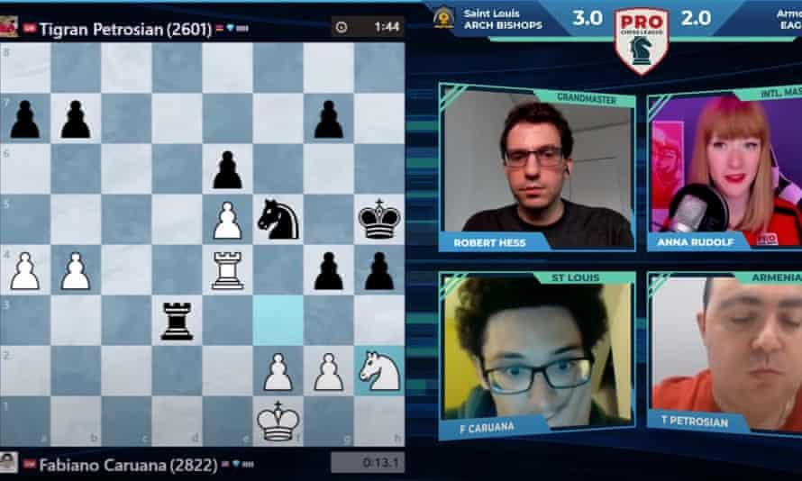 Tigran Petrosian v Fabiano Caruana