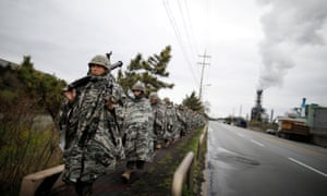 south korea and us resume military drills ahead of nuclear talks