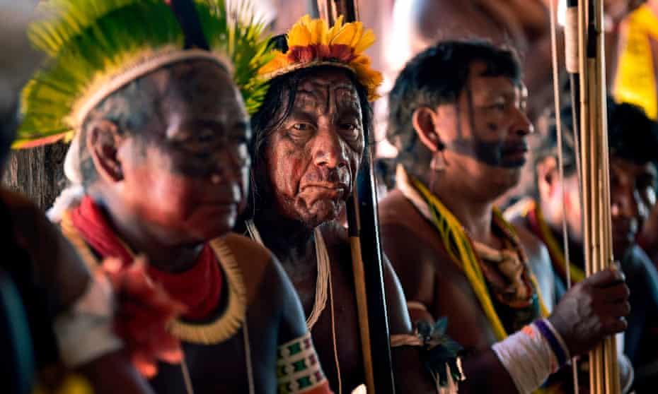 Members of Kayapó tribe