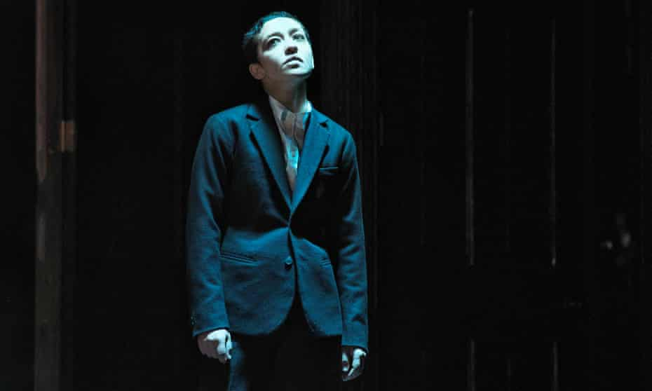 A fascinating mix of male and female … Ruth Negga as Hamlet.