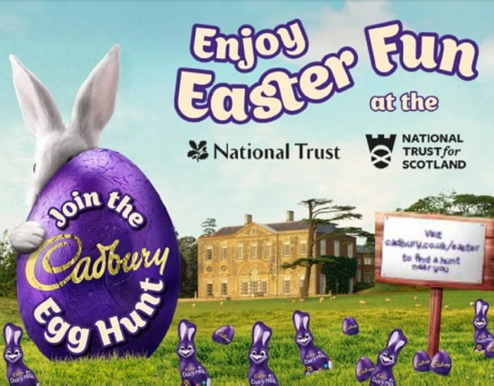 No yolk cadbury and national trust say easter egg row is nonsense no yolk cadbury and national trust say easter egg row is nonsense world news the guardian negle Choice Image