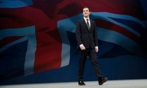 George Osborne in happier times: arriving to deliver his keynote speech at the 2015 Conservative party conference.
