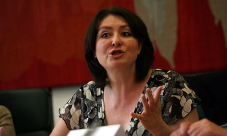 Maryam Namazie speaking at a meeting of the Council of Ex-Muslims of Britain.