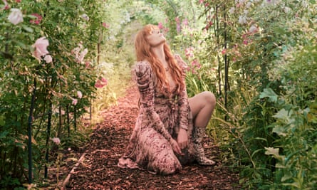 Force of nature: Florence Welch shot at William Morris's Red House in Bexleyheath. She wears a dress and boots by Zimmermann.