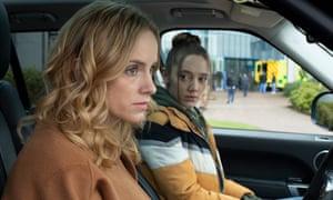 Sophie Rundle as Emily and Mirren Mack as Kaya.