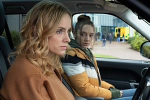 Sophie Rundle (Emily) and Mirren Mack (Kaya) in The Nest