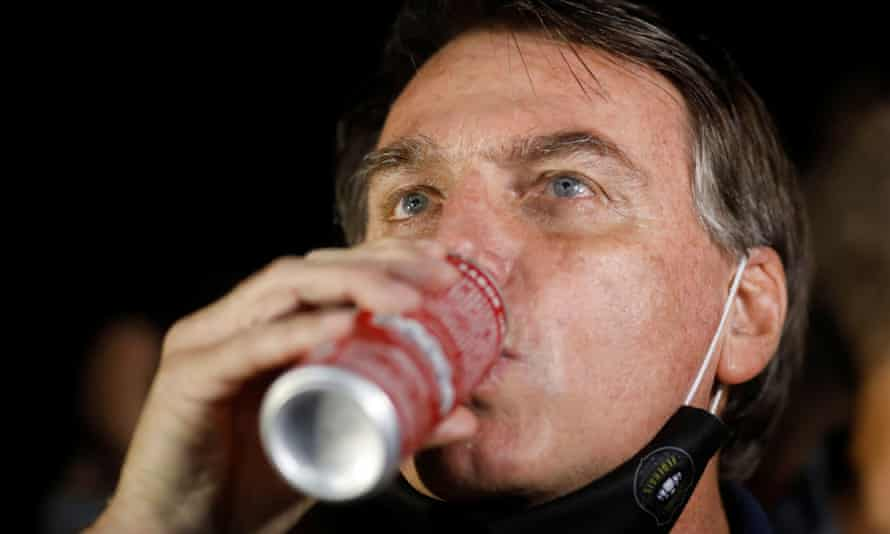 Jair Bolsonaro's penchant for sugar-laden condensed milk has come under scrutiny amid a Covid catastrophe in the Amazon. But that doesn't mean he drank the whole government supply.